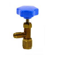Запорный Вентиль-переходник 7/16-1/4 BLUE (CH-341A)
