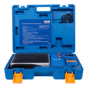 Весы для фреона с дозатором (отсечкой) VALUE VES 50B (до 50 кг)