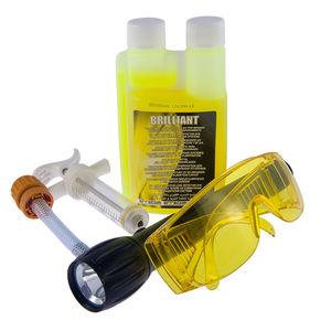 Набор UV-краситель 250 мл, адаптер, шприц 20 мл, UV-лампа, очки