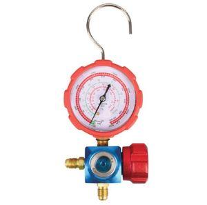 Манометрический коллектор высокого давления FavorCool CT468-GH, одновентильный, под R12, R22, R134a, R404a
