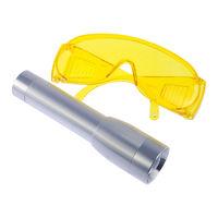 """UV-лампа, питание 2 батарейки """"С"""", очки"""