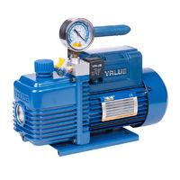 Вакуумный насос  с вакуумметром Value V-i220SV